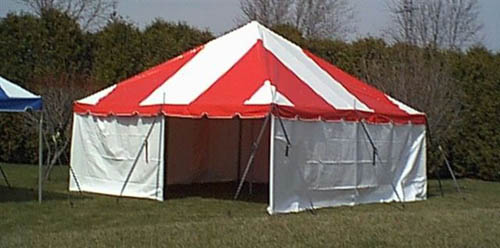 20 x 20 Pole Tent & Tent King » Pole Tents